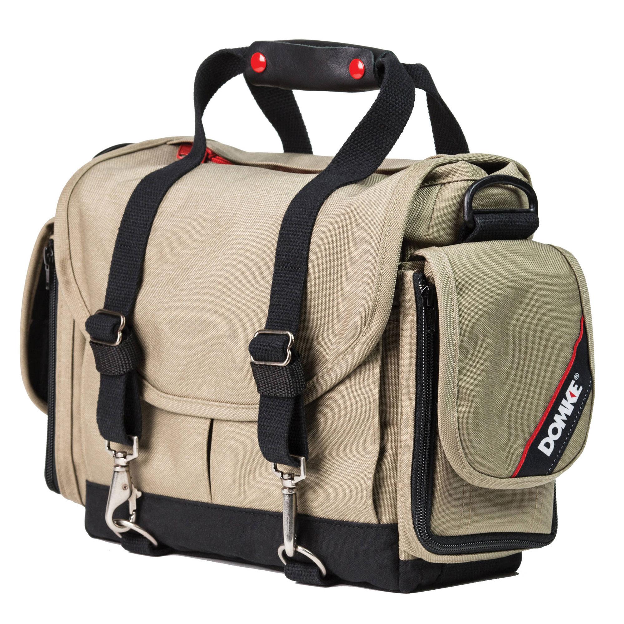 Image of Domke Director Shoulder Bag (Stone/Black)