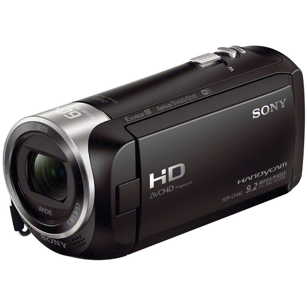 Click here for HDR-CX440 HD Handycam Camcorder with 8GB Internal... prices