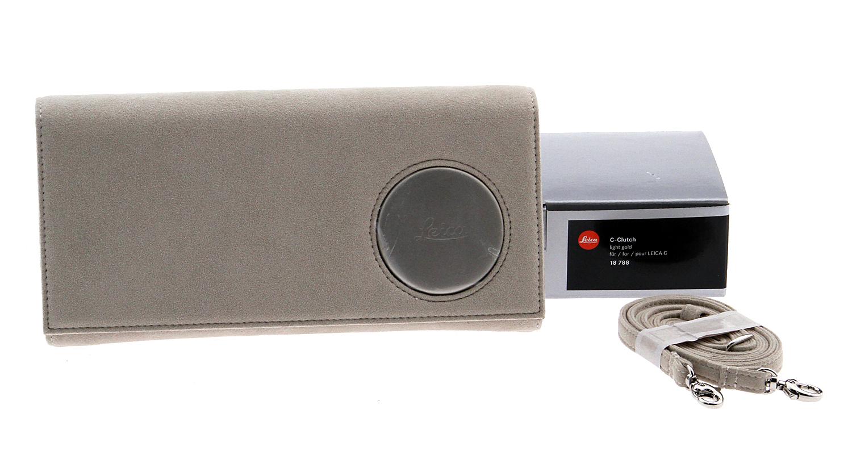 C-Clutch Case for Leica C Digital Camera - Light Gold Used