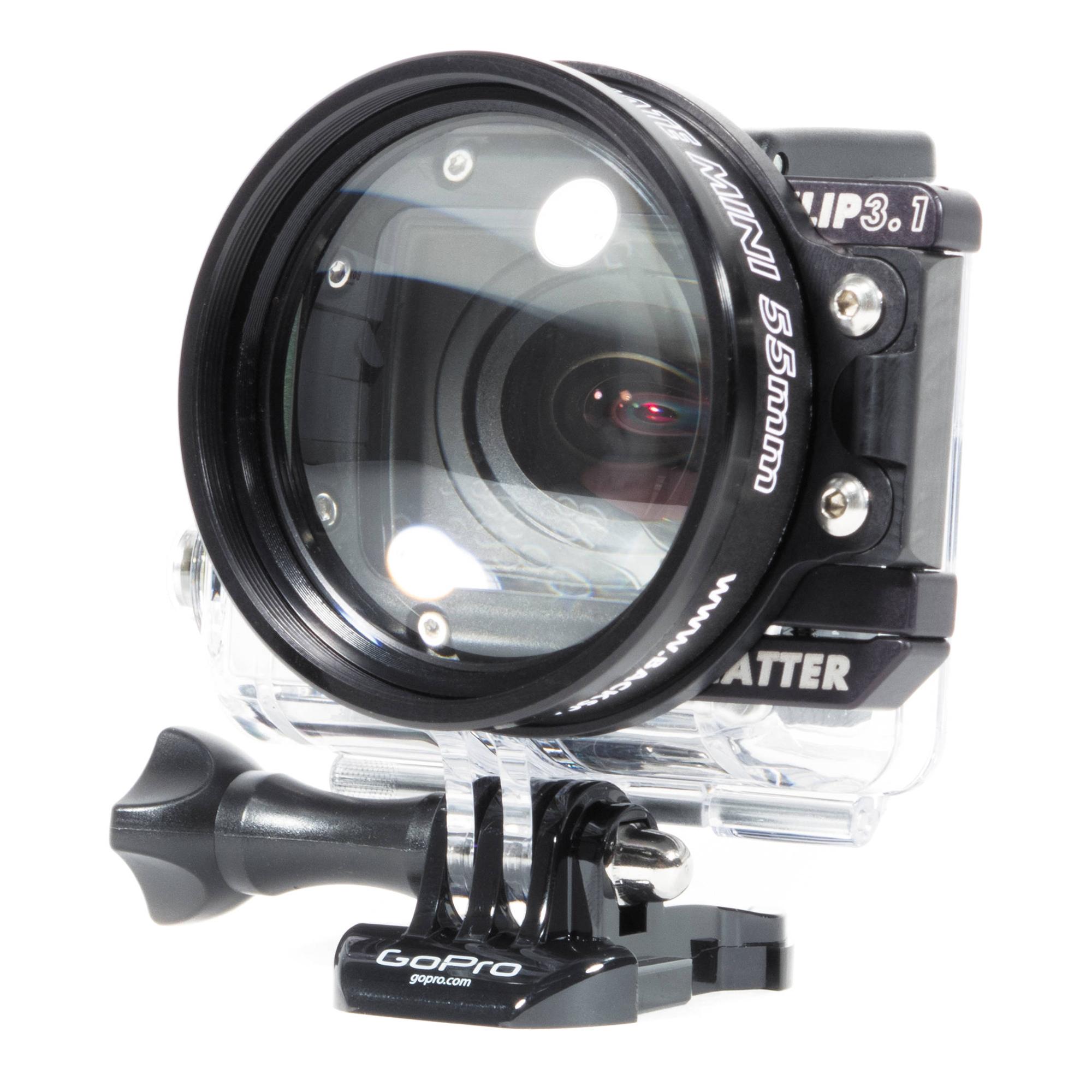 55mm Macromate Mini Underwater Macro Lens for GoPro HERO3 HERO3+