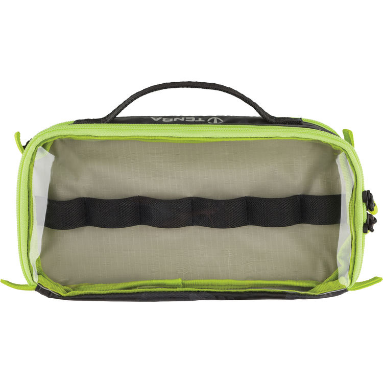 Cable Duo 4 Cable Pouch Black Camouflage/Lime