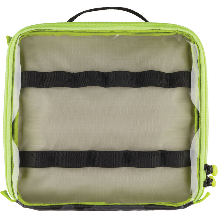Cable Duo 8 Cable Pouch Black Camouflage/Lime