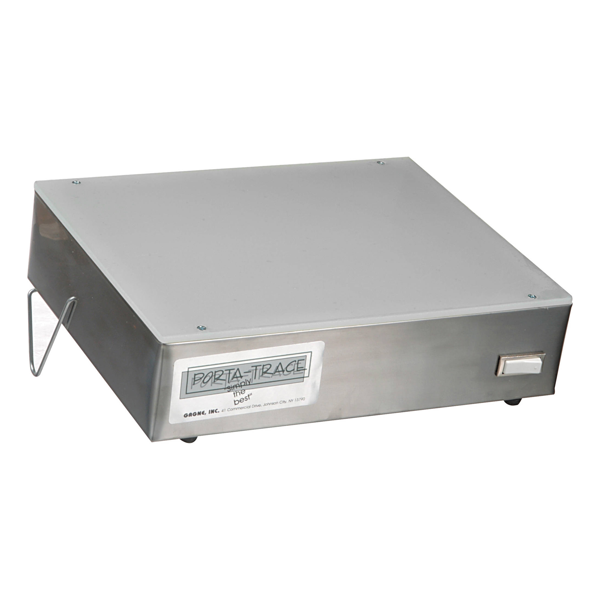 1012-2 Stainless Steel LED Light Box 10 x 12