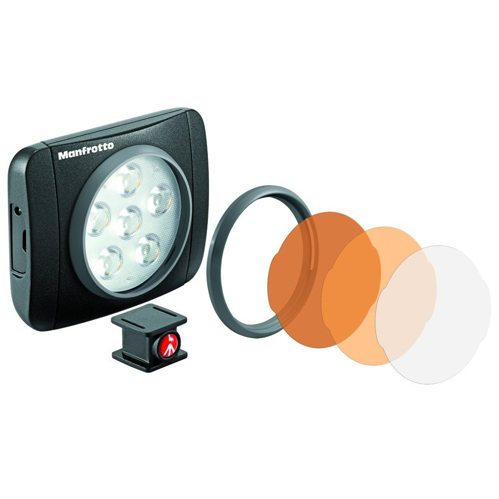 Lumimuse 6 On-Camera LED Light Black
