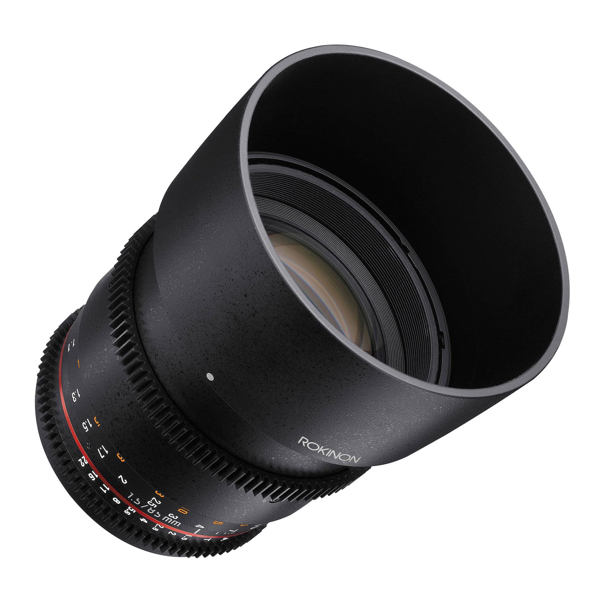 85mm T1.5 Cine DS Lens for Nikon F Mount