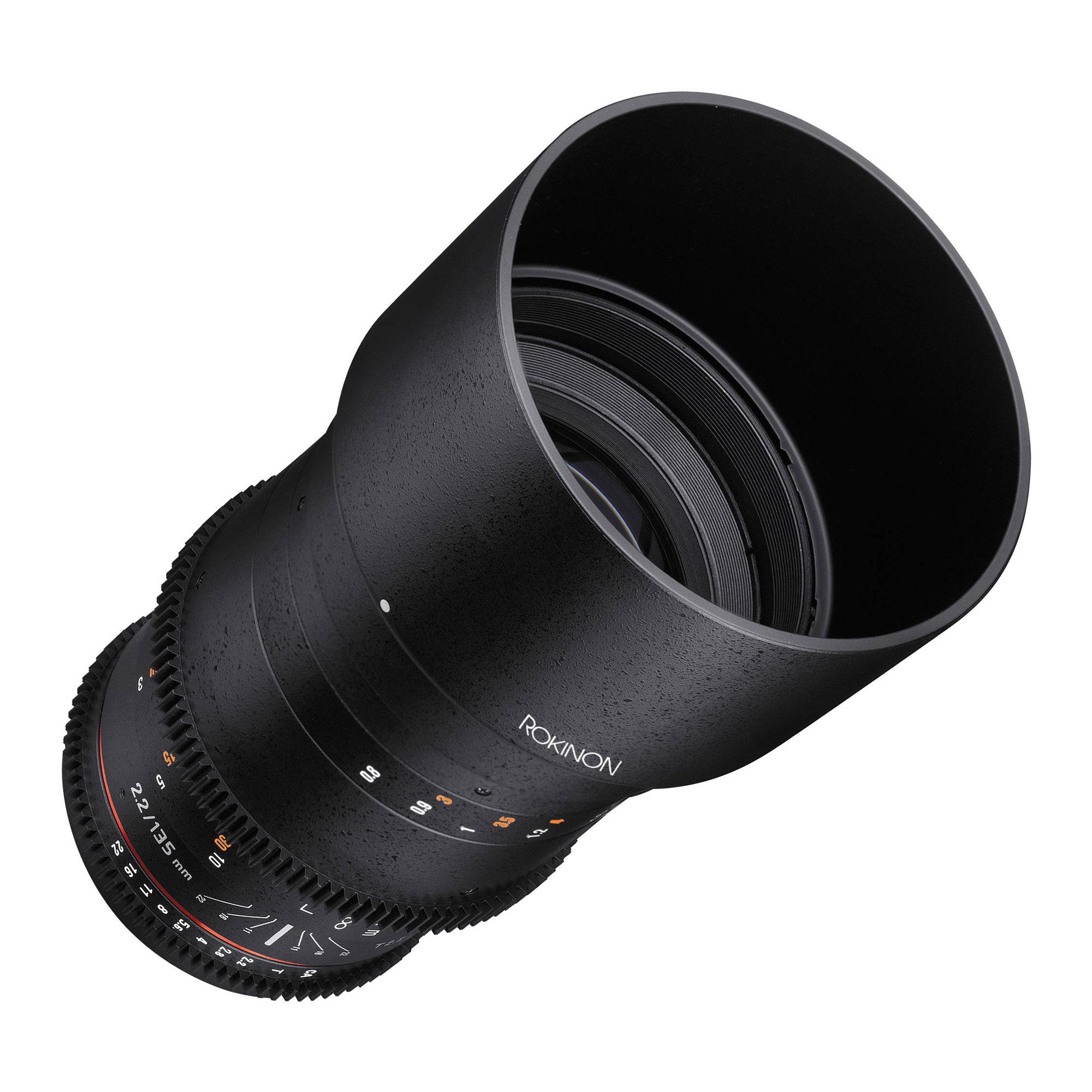 135mm T2.2 Cine DS Lens for Nikon F Mount