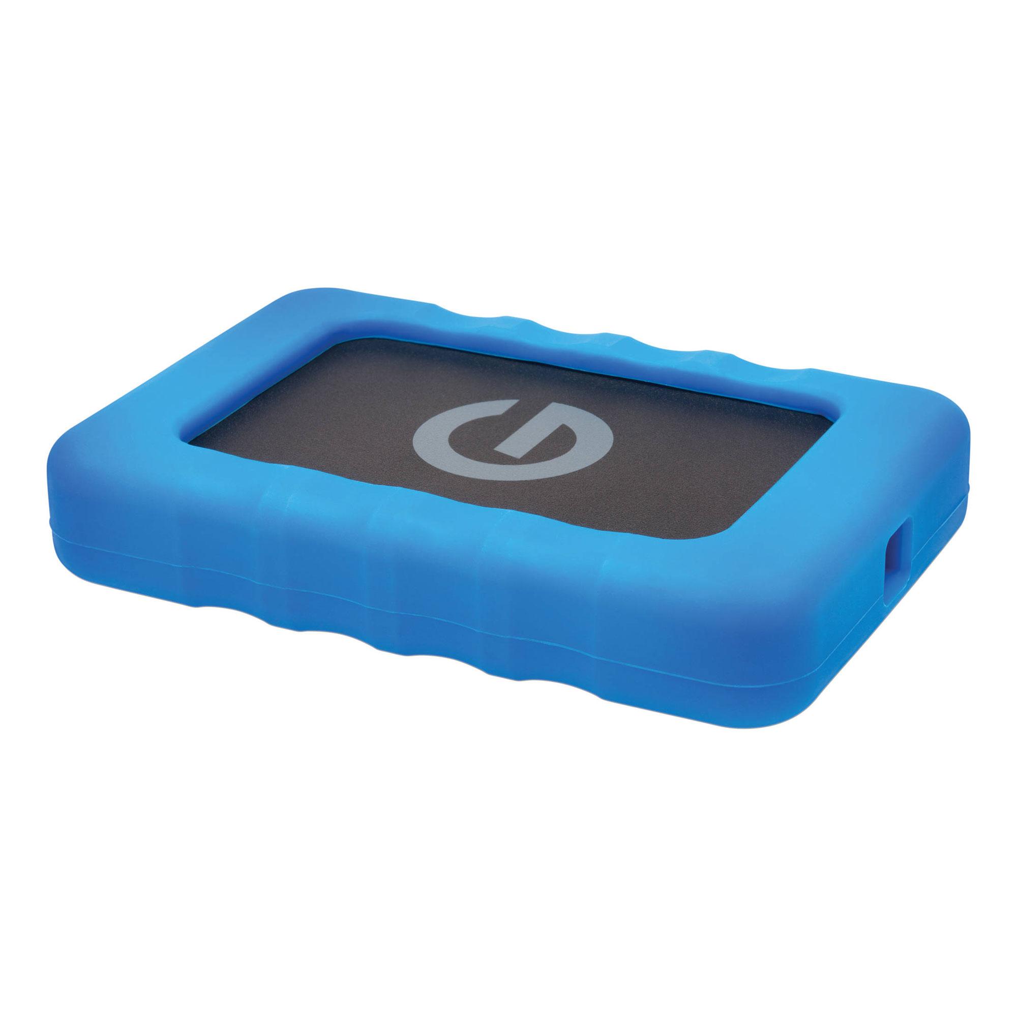 500GB G-DRIVE ev RaW USB 3.0 Hard Drive with Rugged Bumper