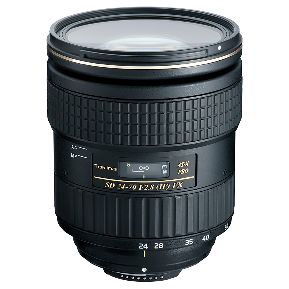 Image of Tokina AT-X 24-70mm f/2.8 PRO FX Lens for Nikon F