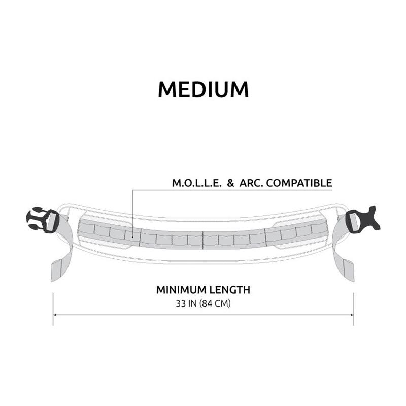 Anvil T0375 M.A.S  M.O.L.L.E Modular Accessory Slim Belt Medium