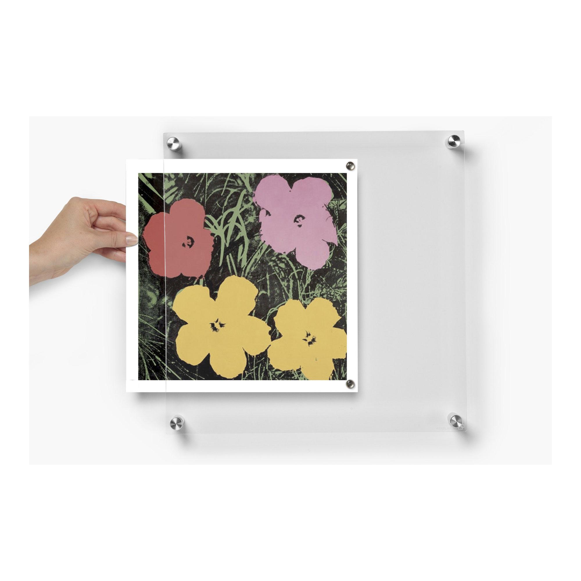 1414 BeSquare Floating Acrylic Frame 14 x 14