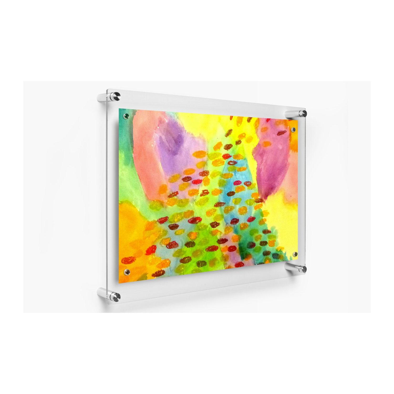 1419 Rectango Floating Acrylic Frame 14 x 19