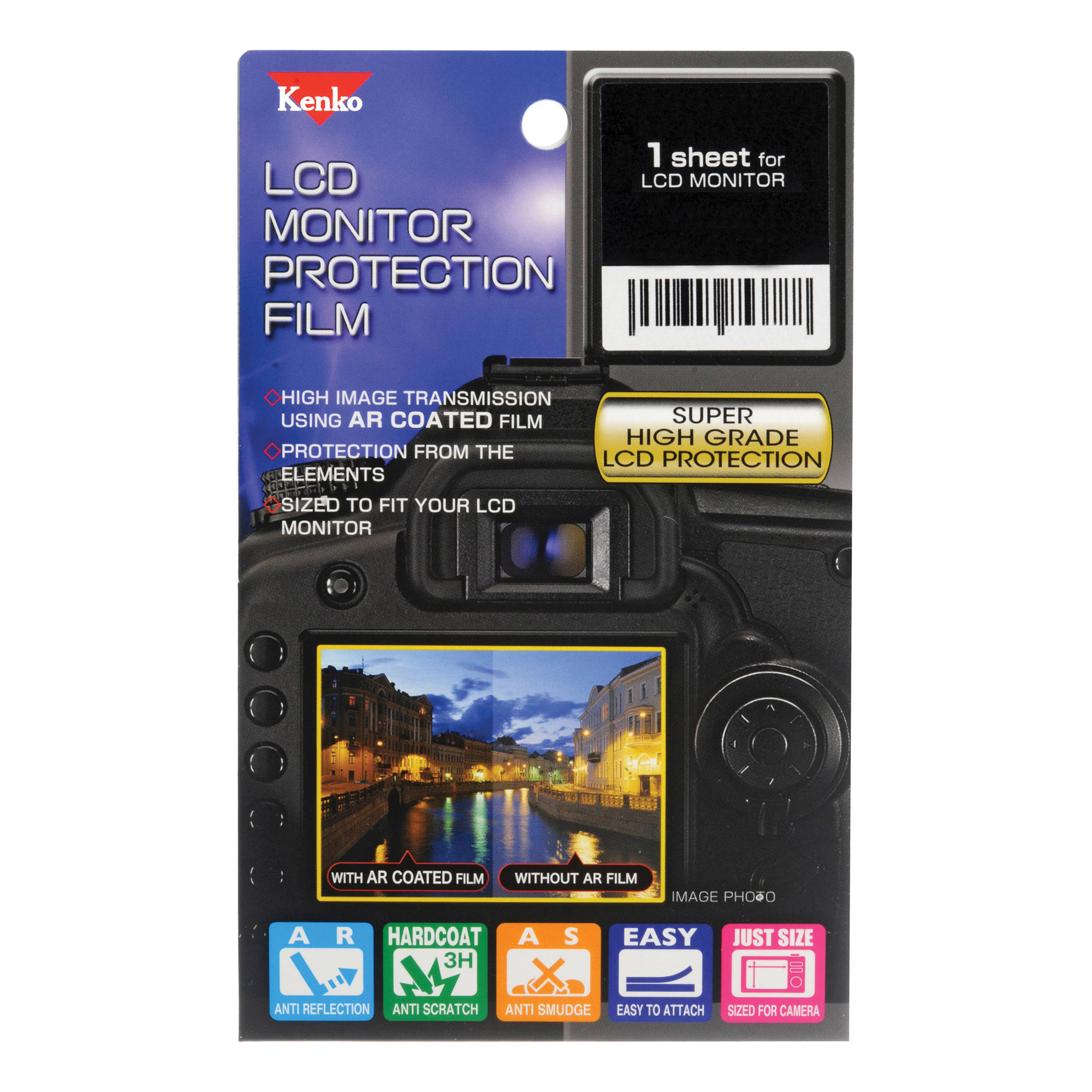 LCD Monitor Protection Film for Canon EOS 7D Mark II