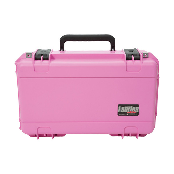 iSeries 2011-7 Watertight Case with Dividers Pink