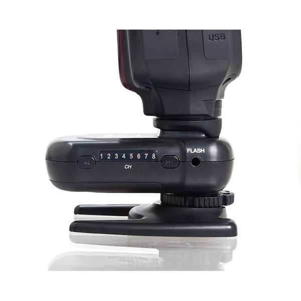Ares Wireless Transmitter/Receiver Flash Trigger Set Black