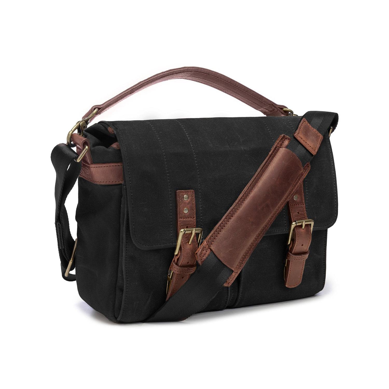 Image of Ona Bags Prince Street Camera Messenger Bag (Black)