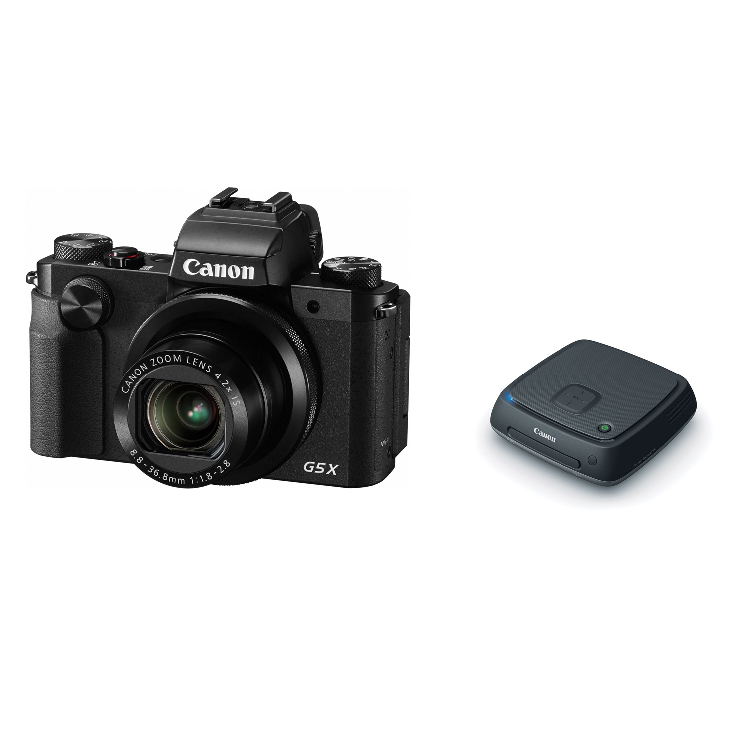 Canon Powershot G5 X Digital Camera With Connect Station Cs100 G3 Wi Fi And Nfc