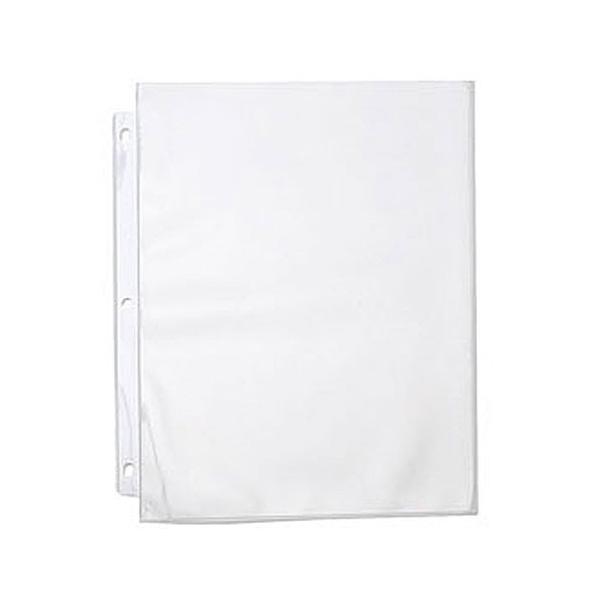 11 x 8.5 In. Polypropylene Express Sheet Protector Portrait  10 Sheets