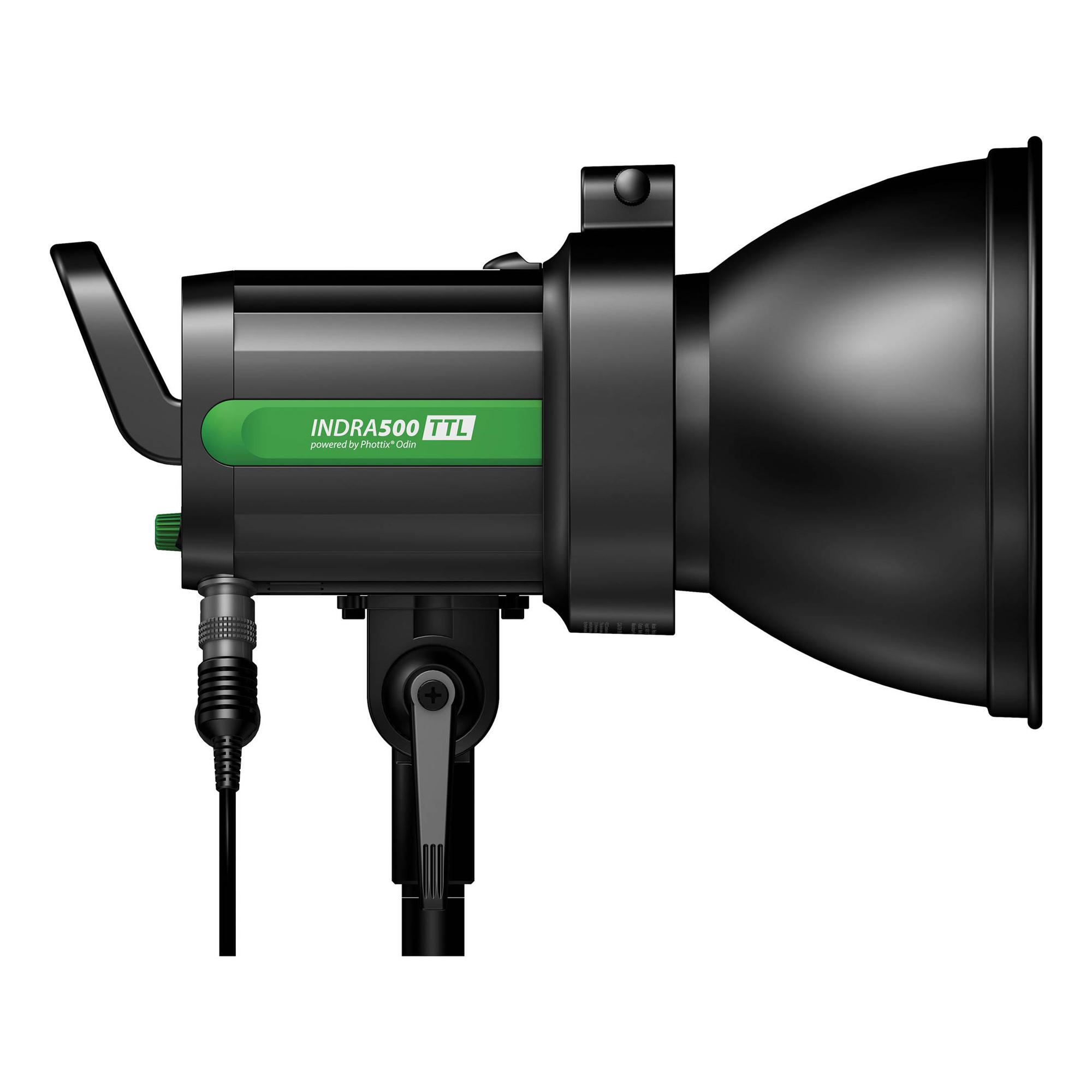 Indra500 TTL Battery Powered Studio Light