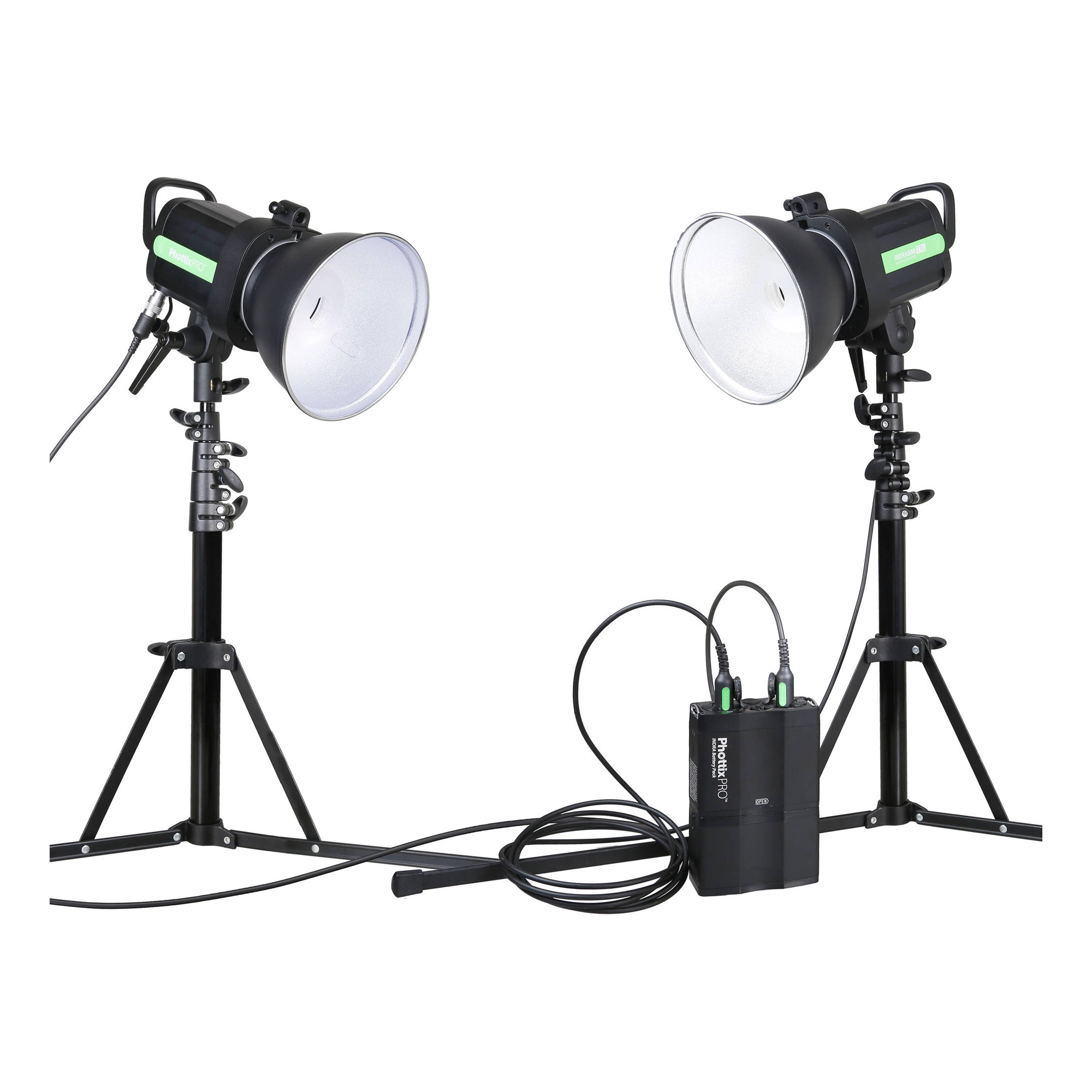 INDRA500 TTL Monolight Kit with Battery Pack