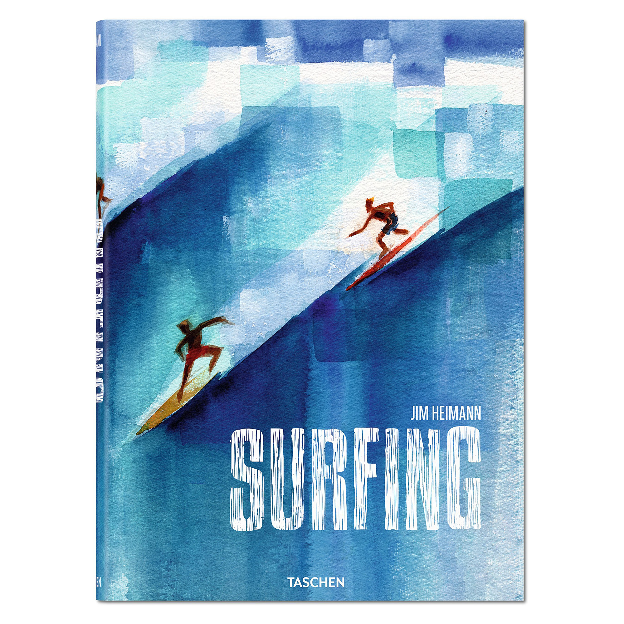 Surfing: 1778-2015 English  German and French Edition - Hardcover Book