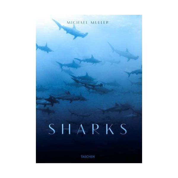 Sharks By Michael Muller - Hardcover Book