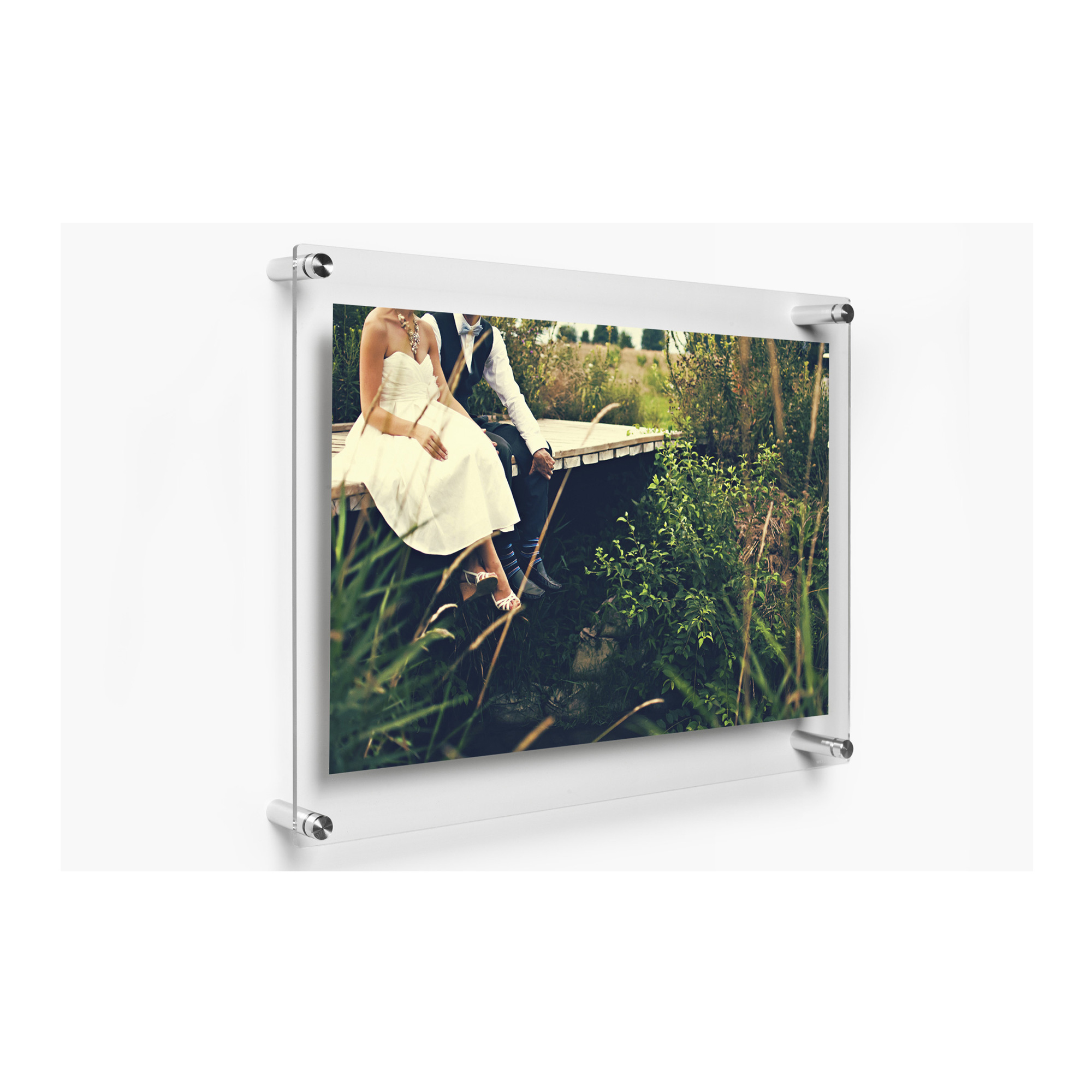 Double Panel 15 X 18 In. Wall Frame for 11x14 In. Art
