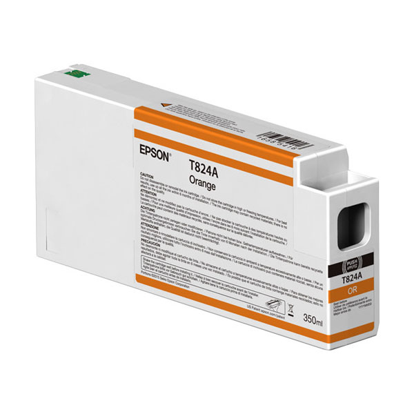 T824A00 UltraChrome HDX Orange Ink Cartridge 350ml