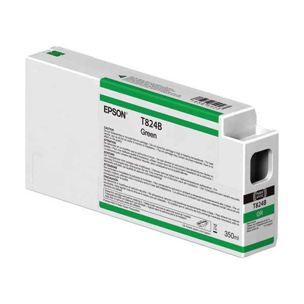 T824B00 UltraChrome HDX Green Ink Cartridge 350ml