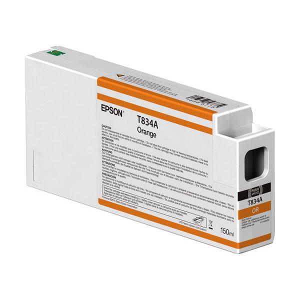 T834A00 UltraChrome HDX Orange Ink Cartridge 150ml