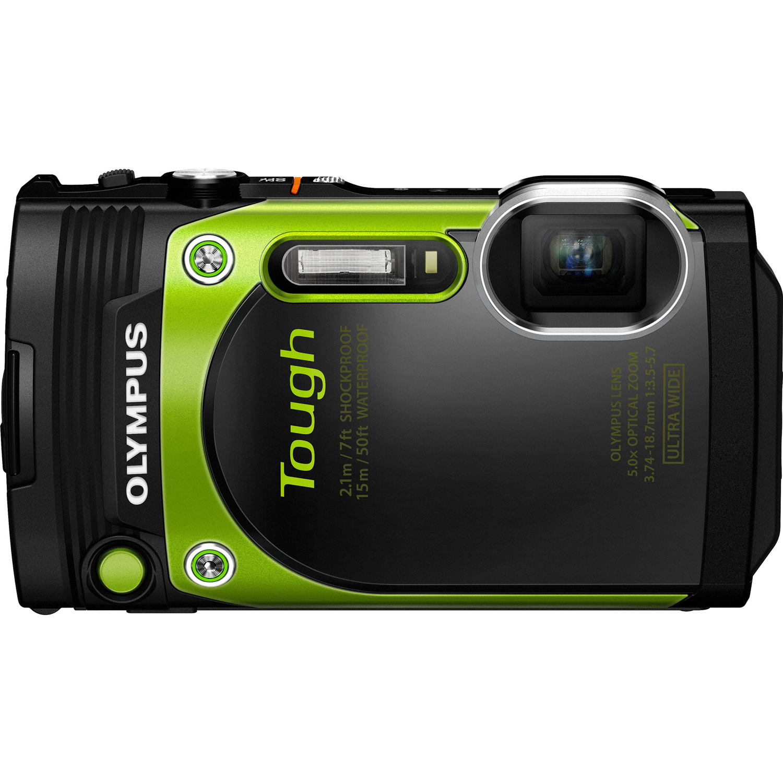 Stylus Tough TG-870 Digital Camera Green