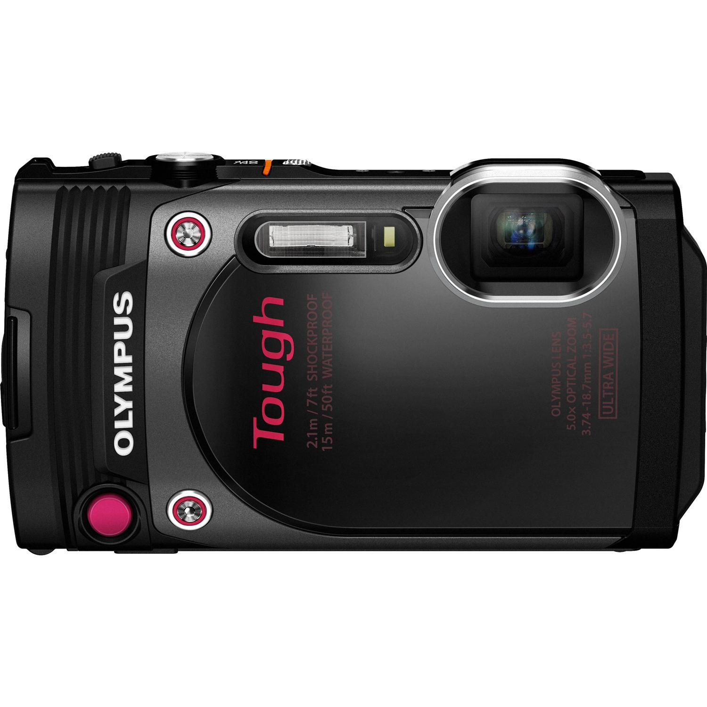 Stylus Tough TG-870 Digital Camera Black