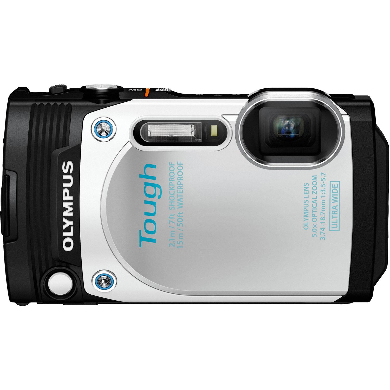 Stylus Tough TG-870 Digital Camera White