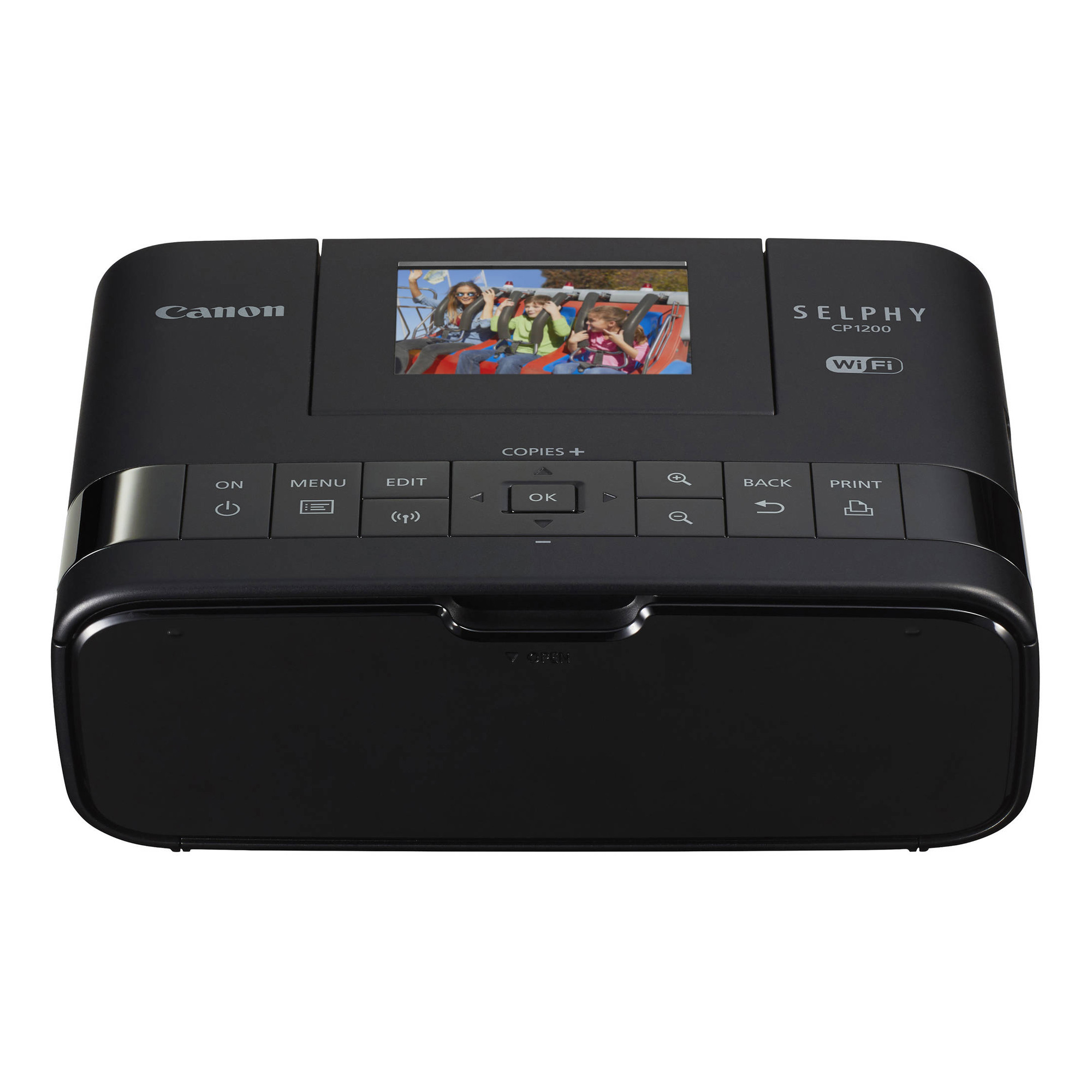 SELPHY CP1200 Wireless Compact Photo Printer Black