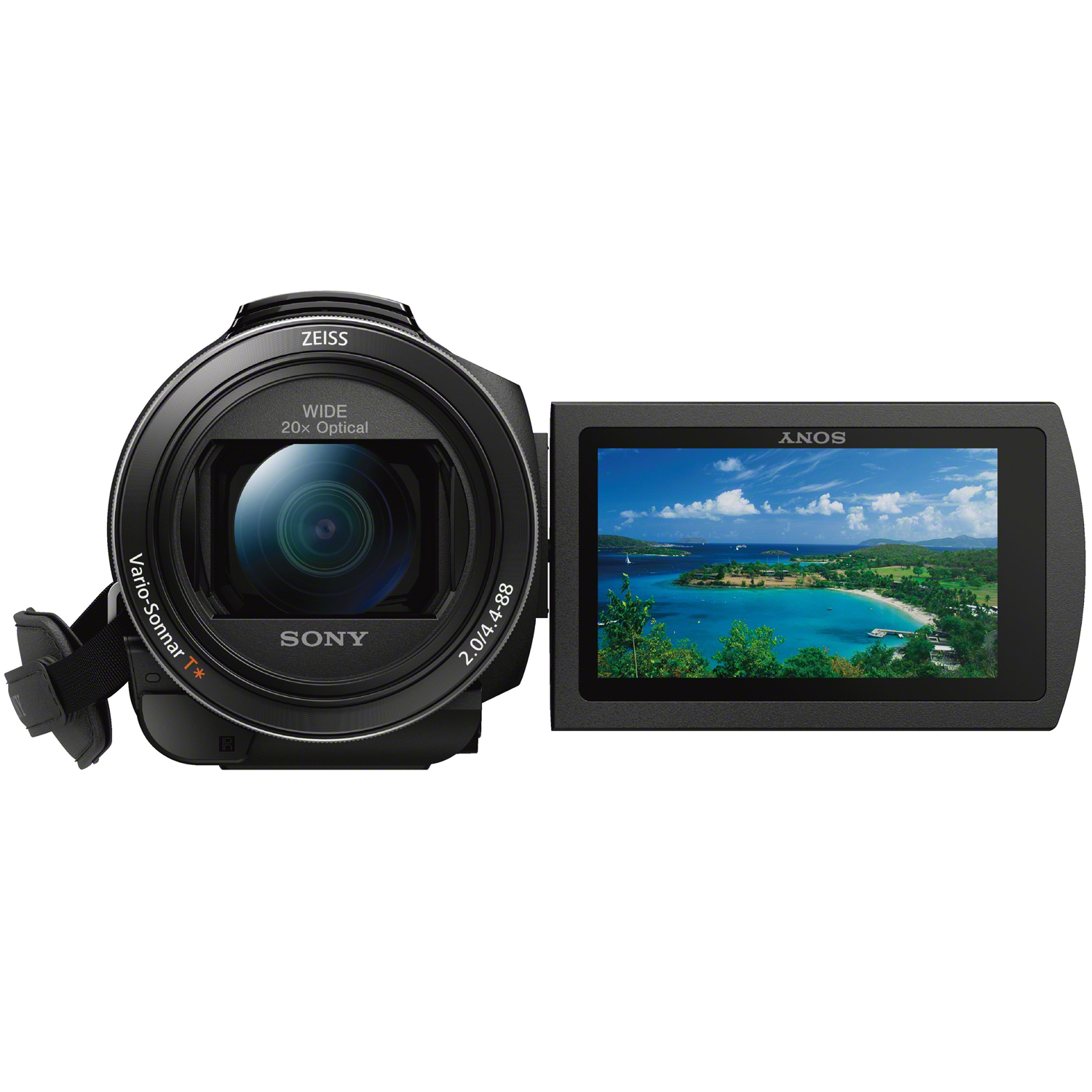 Click here for FDR-AX53 4K Ultra HD Handycam Camcorder prices