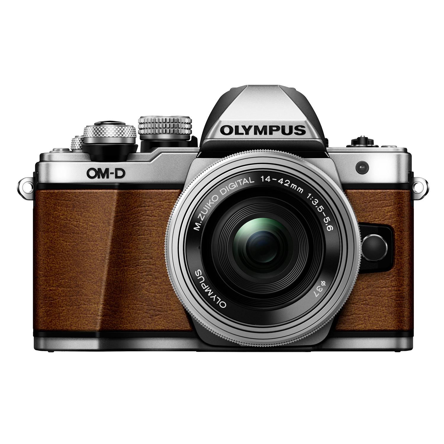 OM-D E-M10 Mark II Limited Edition Mirrorless Digital Camera with 14-42mm Lens Silver