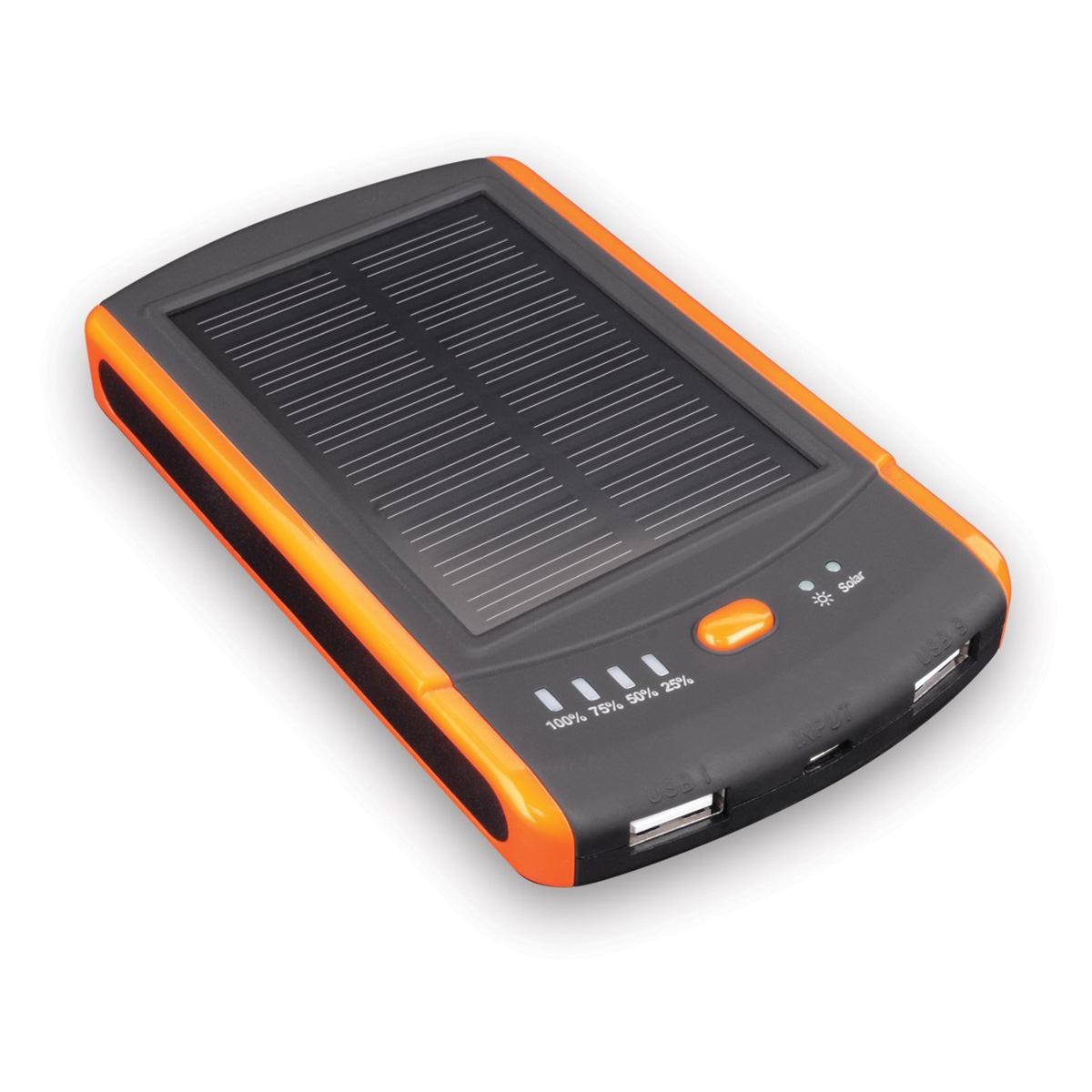 Solar Dual USB 6 000mAh Battery Pack