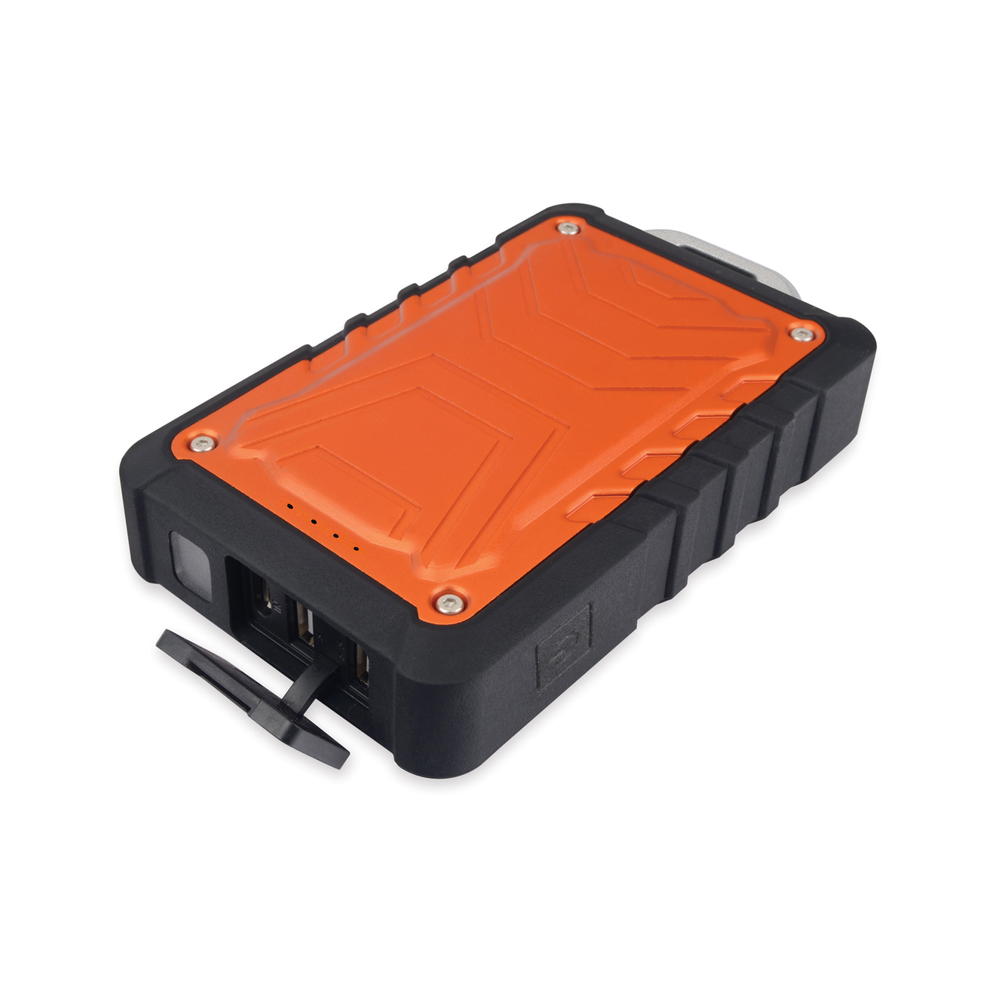 Rugged Weatherproof 8000 mAh Dual USB Battery Pack Charger