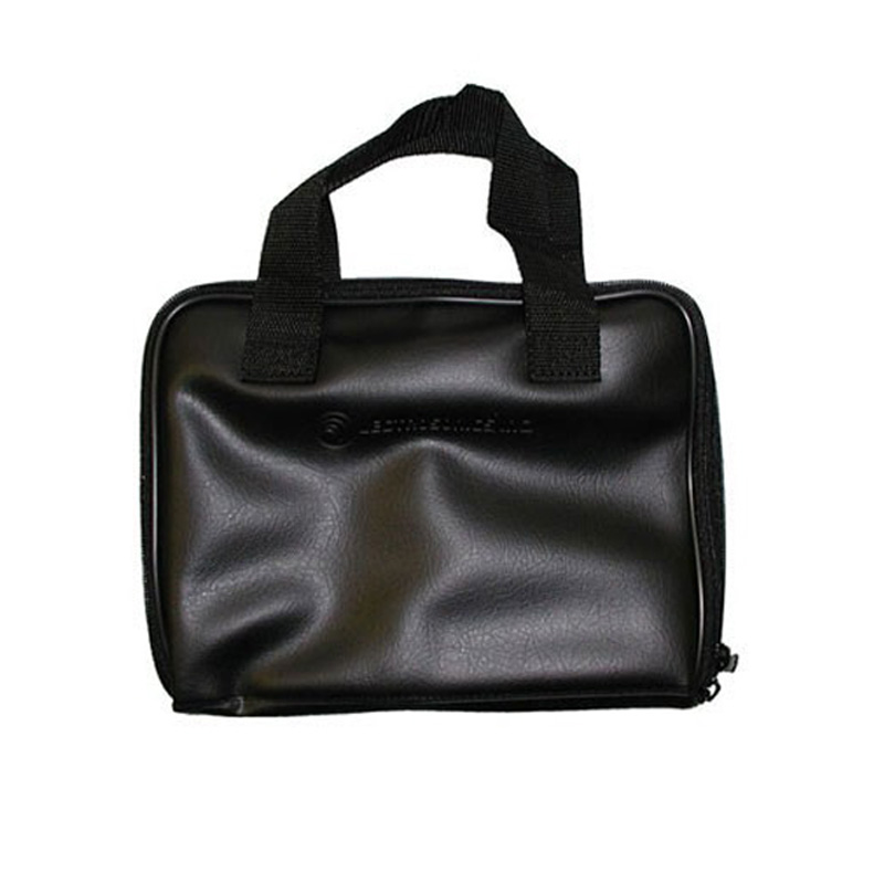 Zippered Carrying Case for Compact Wireless Microphone Systems