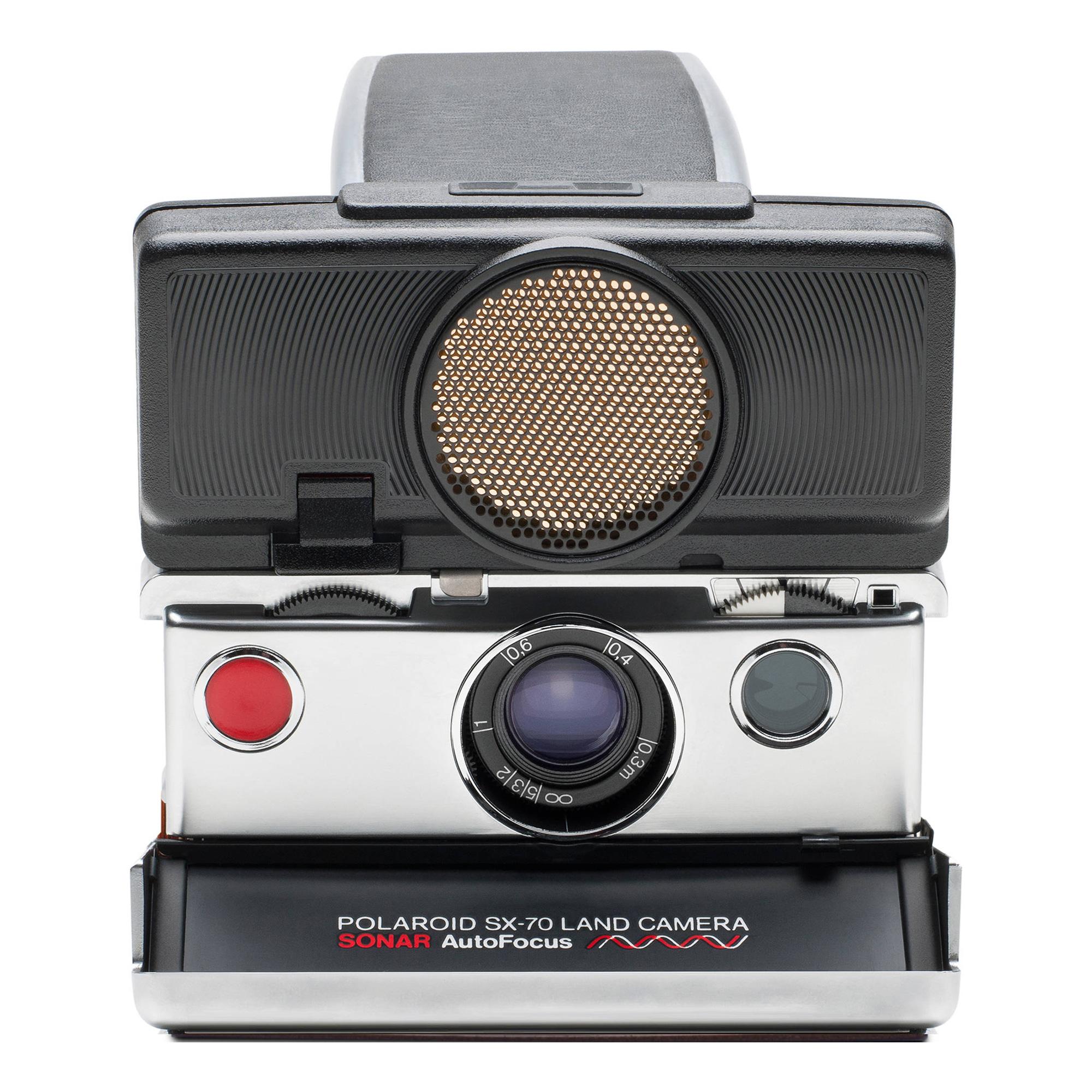 Polaroid SX-70 Sonar Instant Film Camera Black