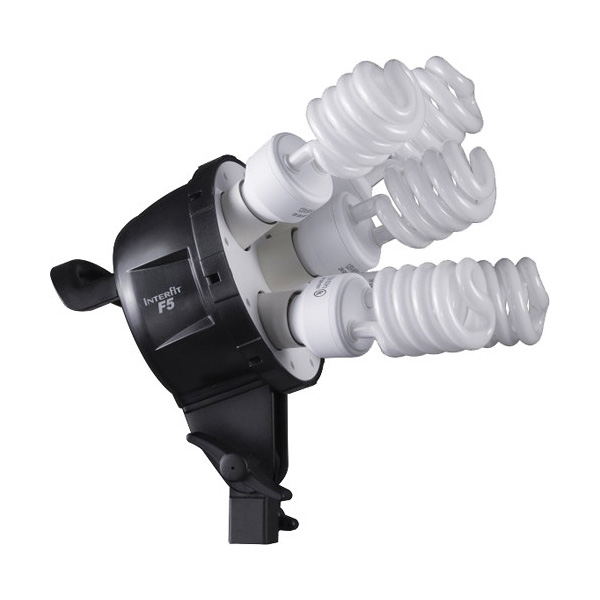 F5 Two-Head Fluorescent Lighting Kit