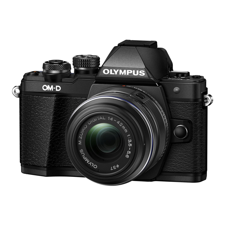 OM-D E-M10 Mark II Mirrorless Micro Four Thirds Digital Camera with 14-42mm II R Lens Black