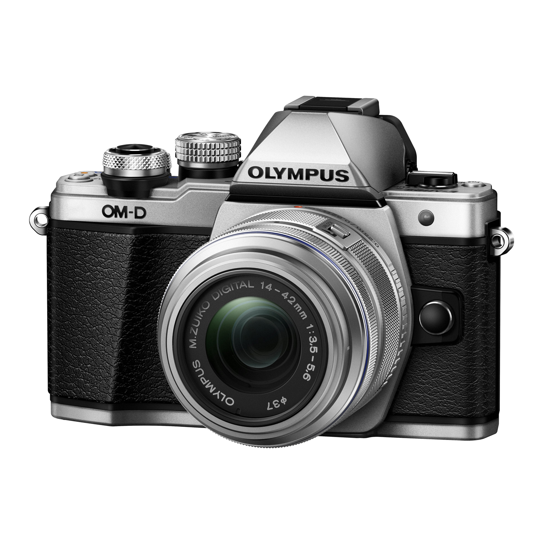 OM-D E-M10 Mark II Mirrorless Micro Four Thirds Digital Camera with 14-42mm II R Lens Silver