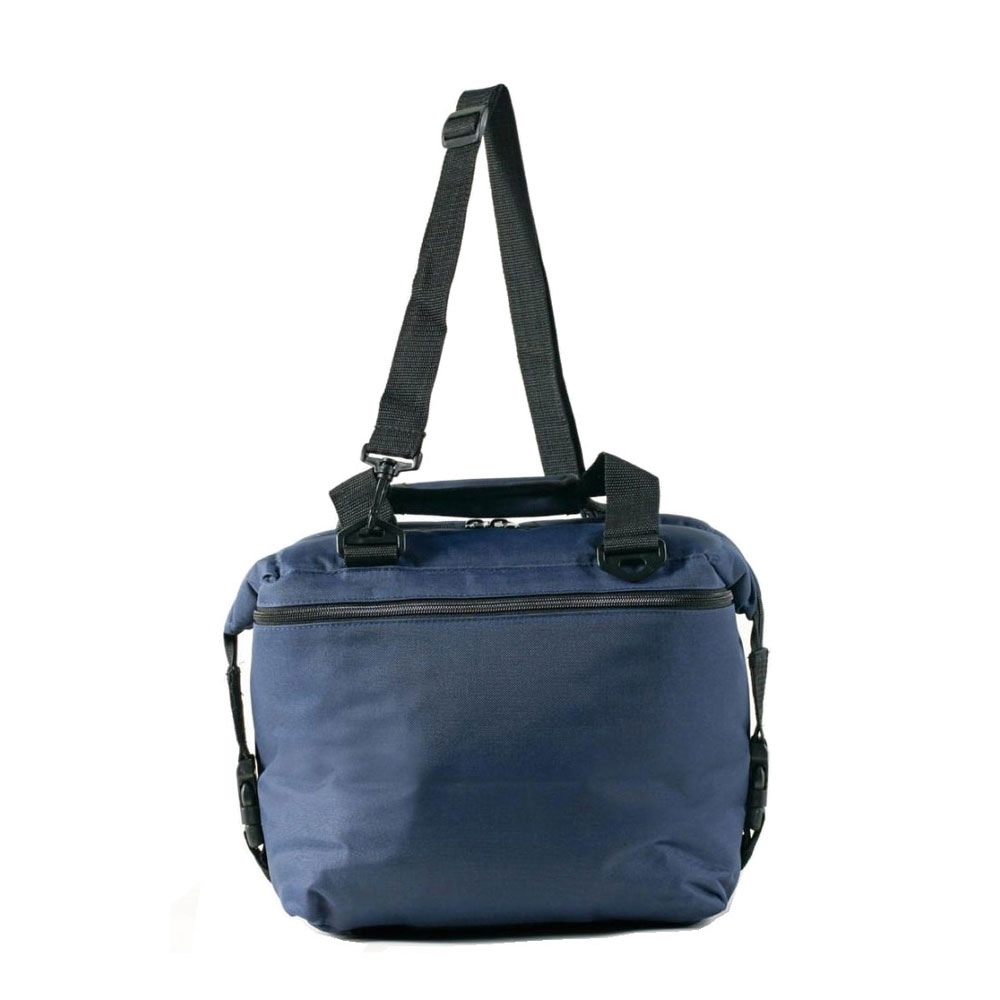 36 Pack Canvas Cooler Navy Blue