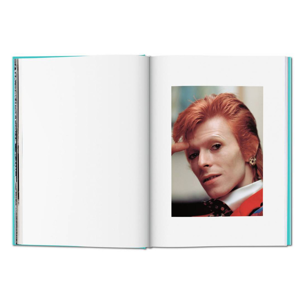 Mick Rock: The Rise of David Bowie  1972-1973 - Hardcover Book