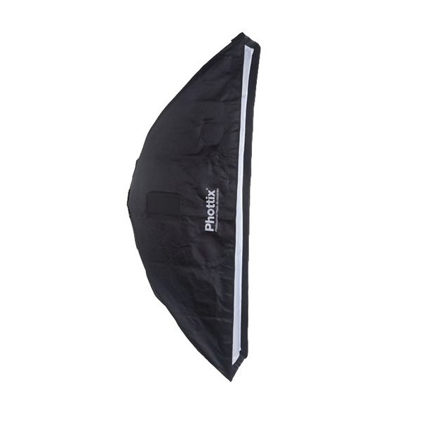 2 in 1 Strip Softbox with Grid 14 x 56 In.