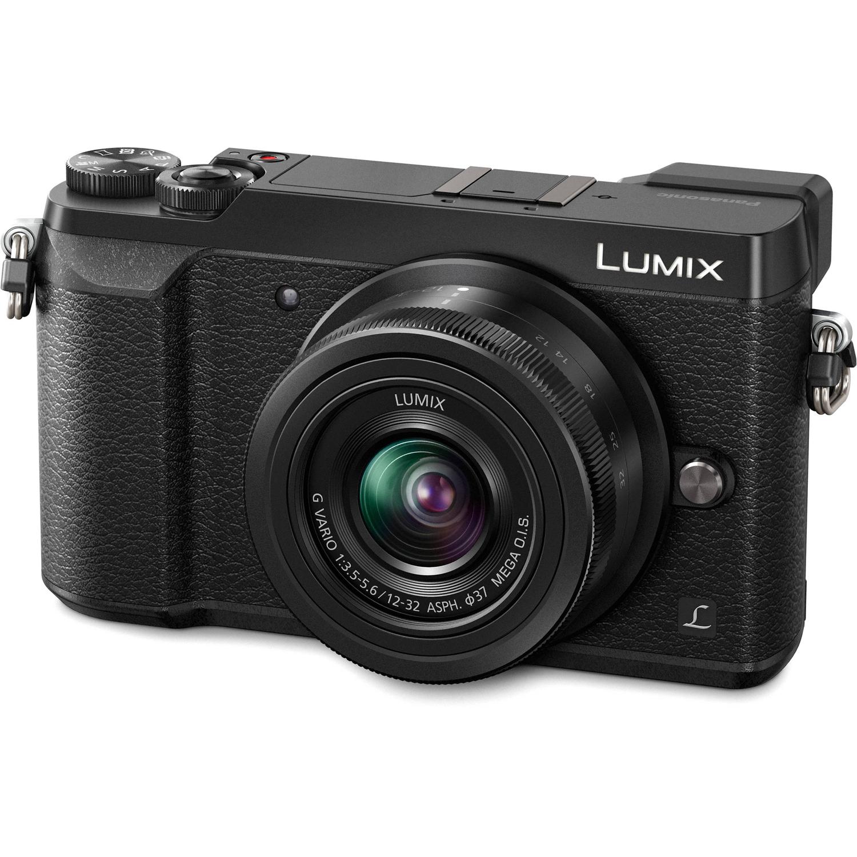 Panasonic Lumix Dmc Gx85 Mirrorless Micro Four Thirds Digital Camera Lx10 Black With 12 32mm Lens