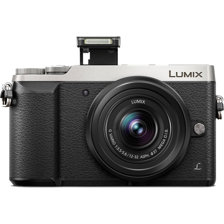 Lumix DMC-GX85 Mirrorless Micro Four Thirds Digital Camera with 12-32mm Lens Silver