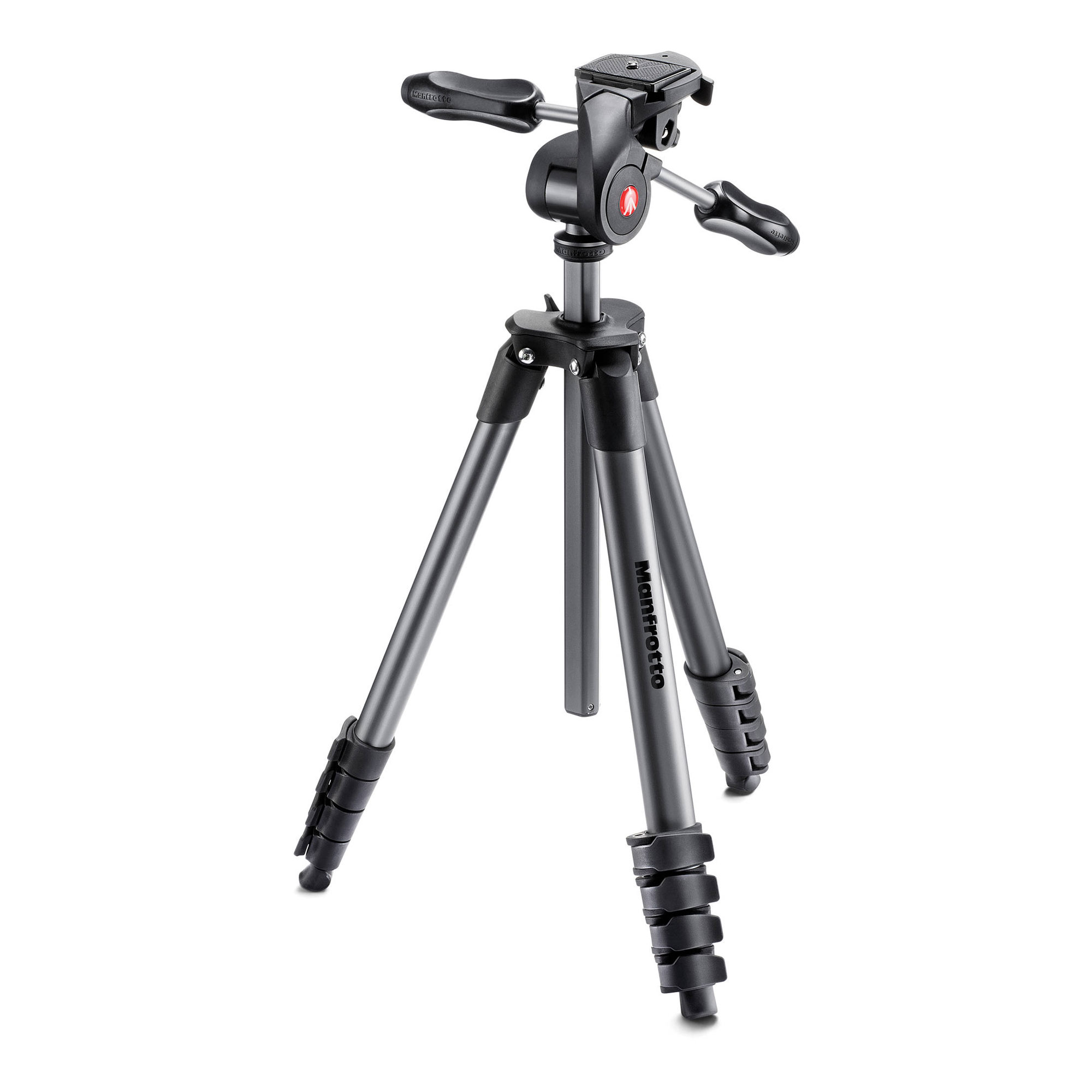 Compact Advanced Aluminum Tripod Black