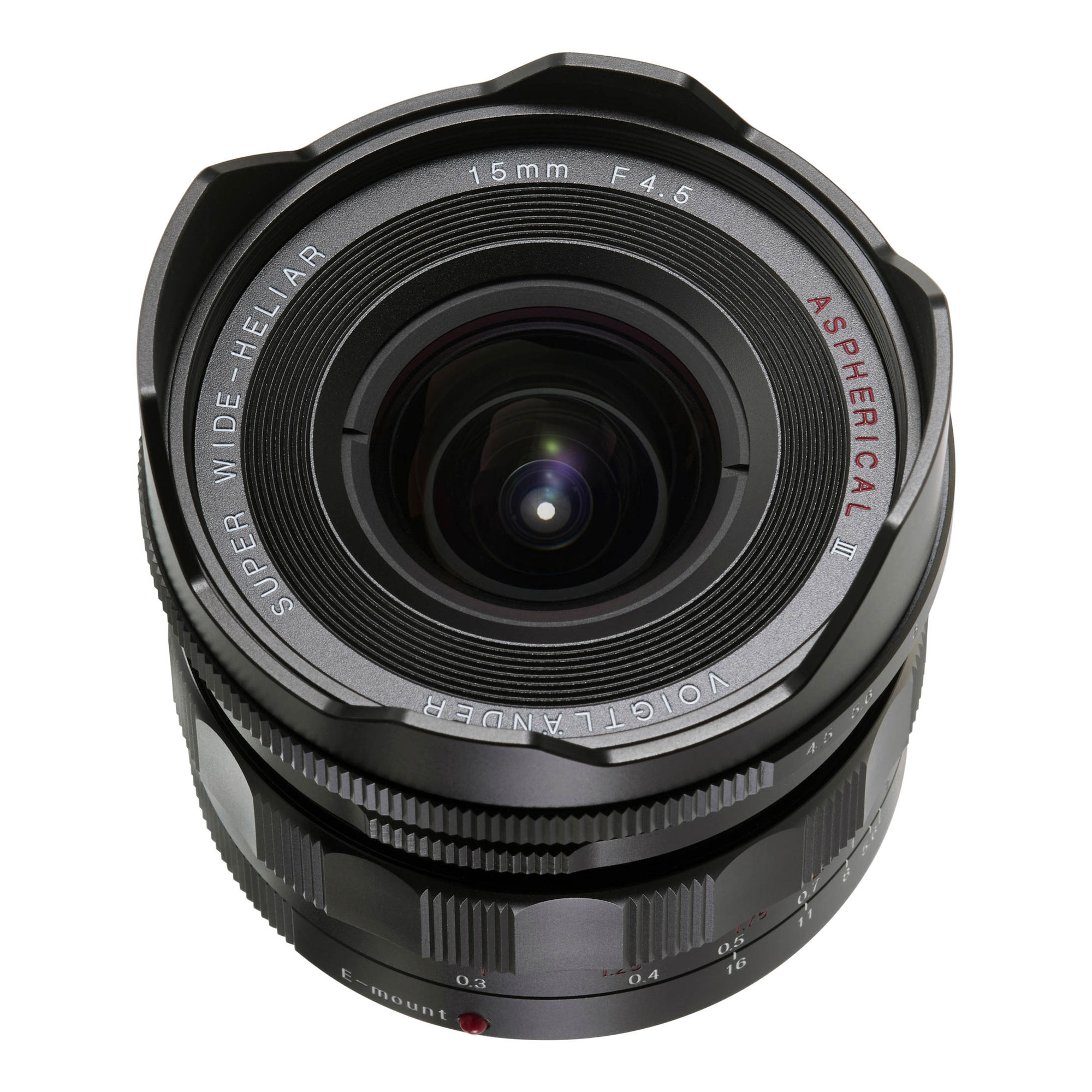 Super Wide-Heliar 15mm f/4.5 Aspherical III Lens for Sony E