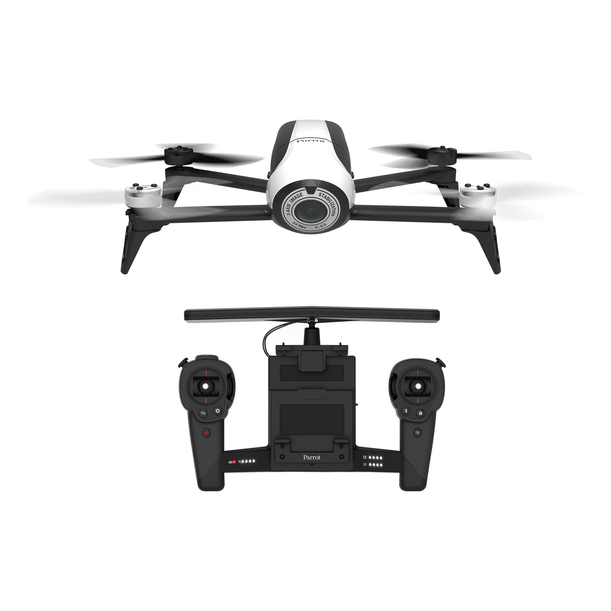 Parrot | BeBop Drone 2 with Skycontroller (White) | PF726103